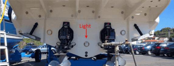 Boat after Light system installation